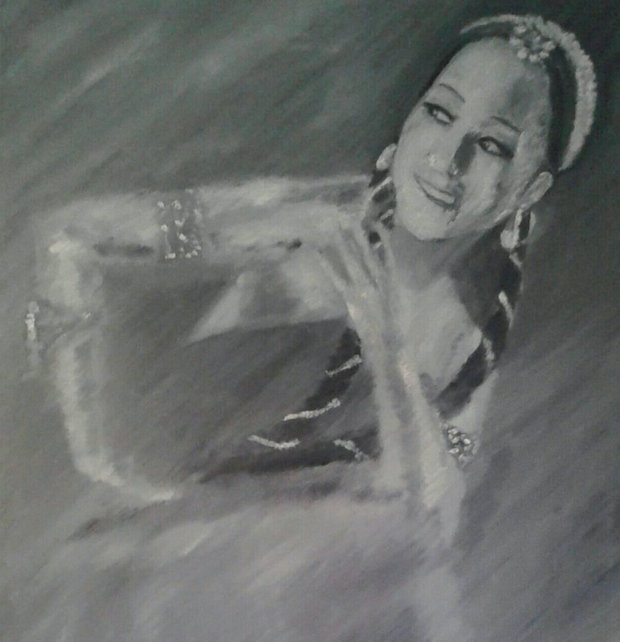 Первая балерина Кыргызстана