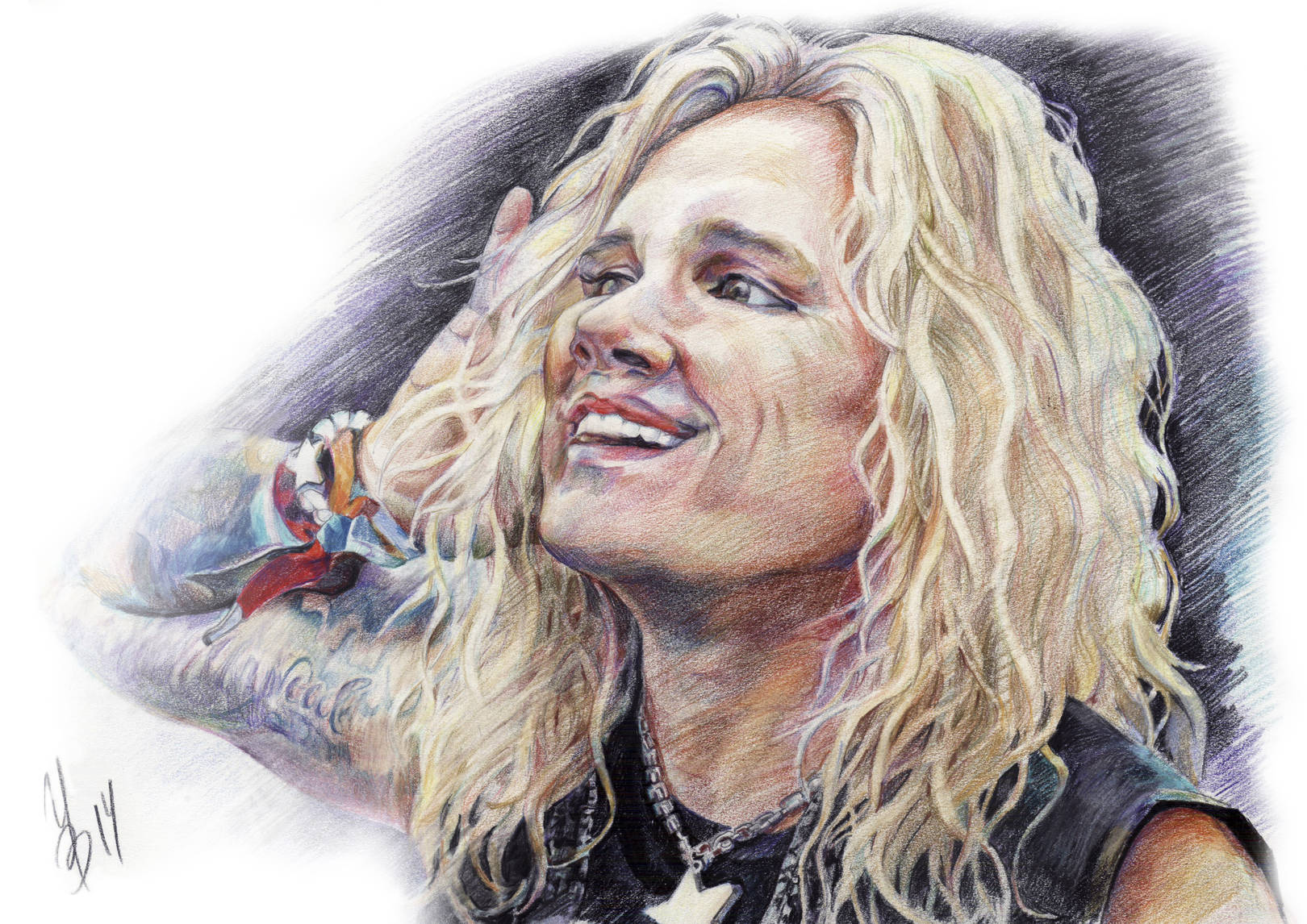 """Michael Starr """"Steel Panther"""""""
