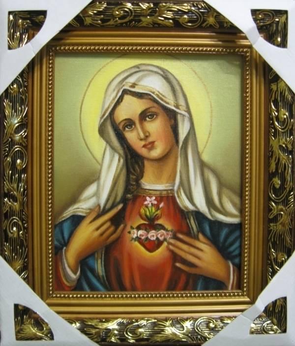 Сердце Марии (холст,масло)