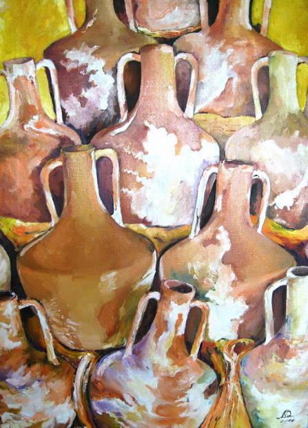 Коллекция живописи Моники Лемешонок