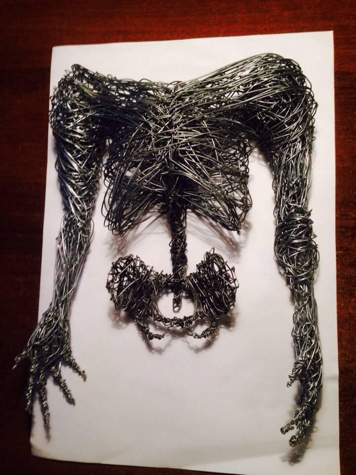Создаю скелет.