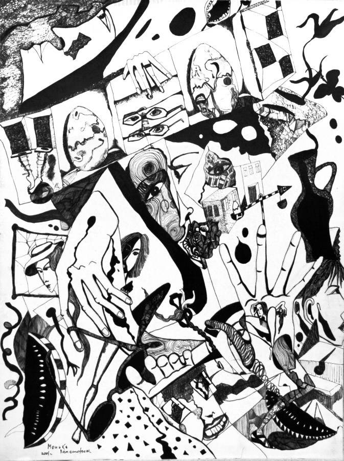 Графические иллюстрации Моники Лемешонок