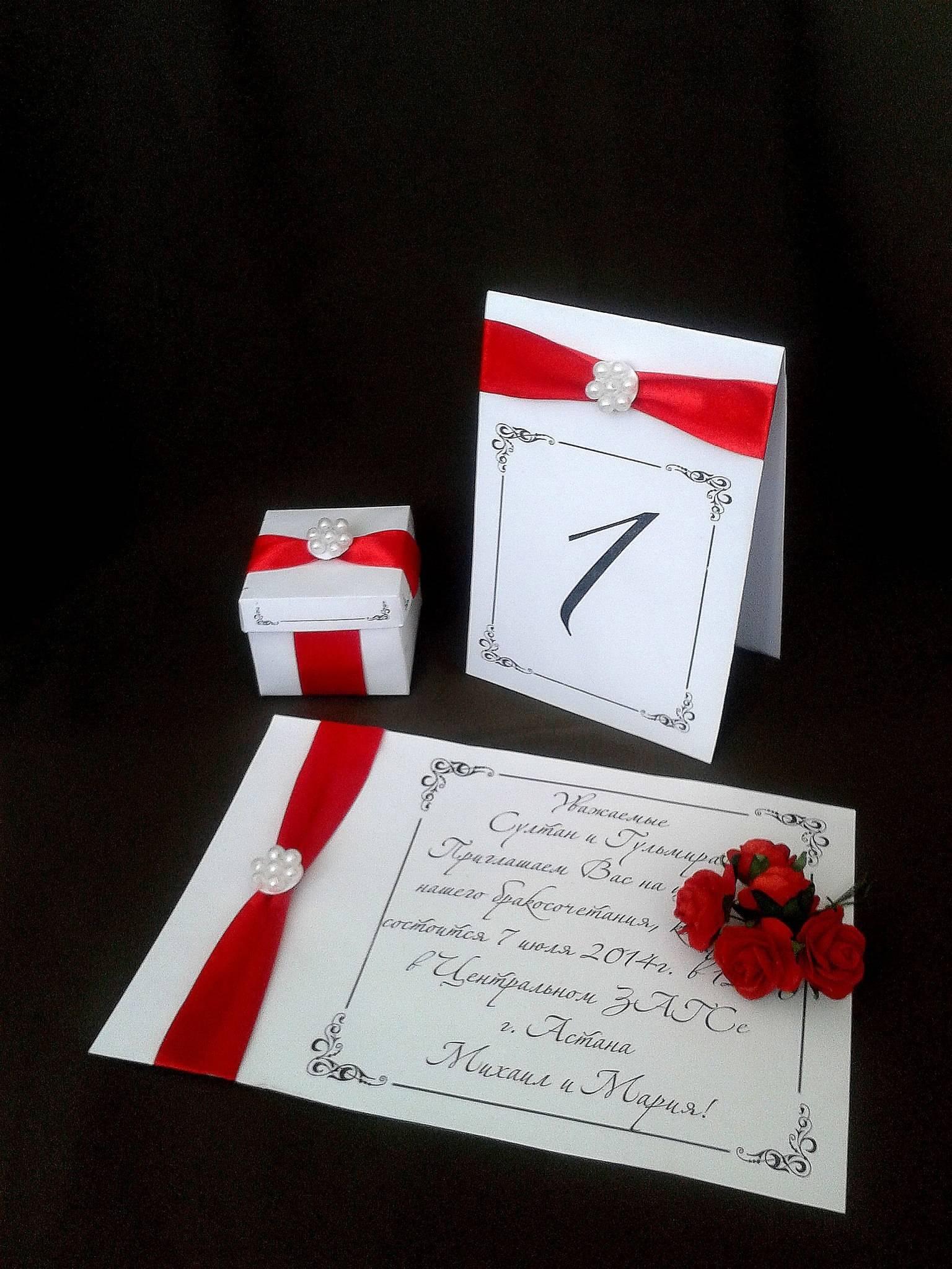 Свадебные наборы. Ручная работа