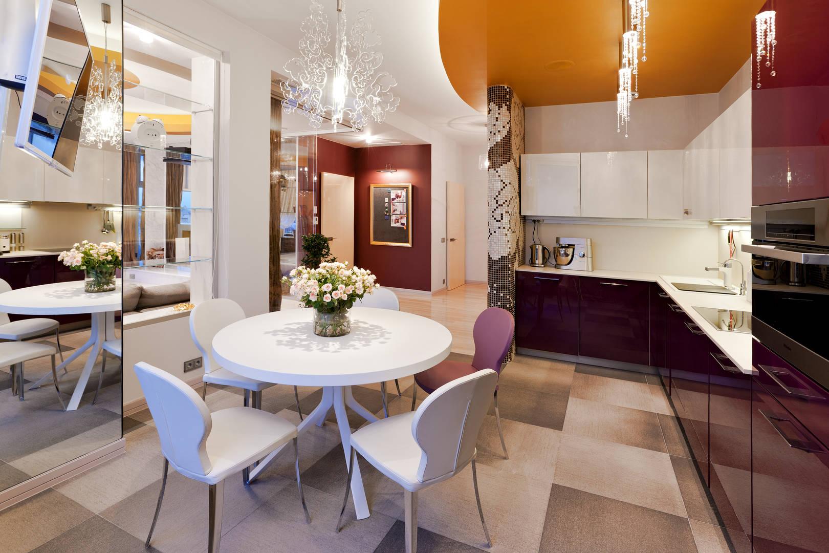 Кухня-столовая 17,5 кв.м