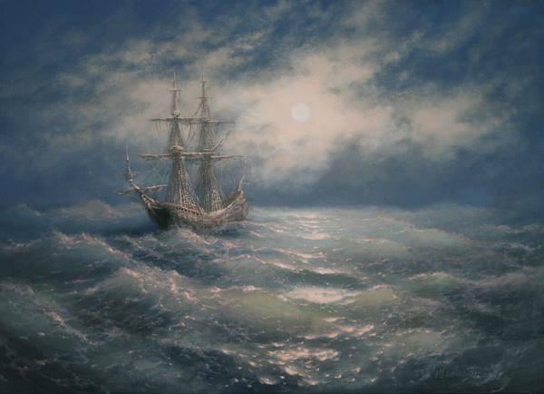Пятый океан, 50х70, только на заказ