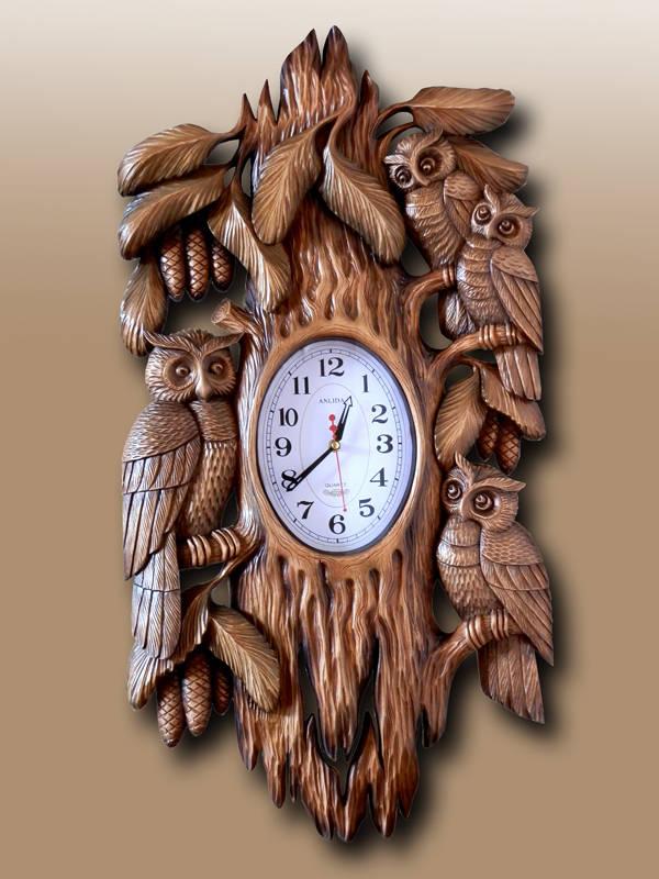 часы совушки
