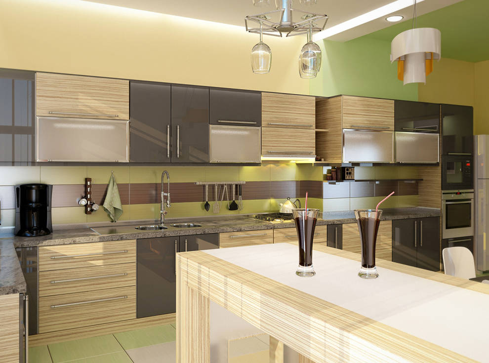 Квартира в стиле (конструктивизм)