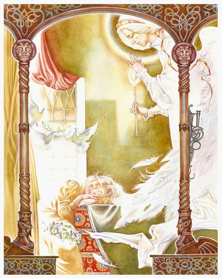 Иллюстрация св. Ирина