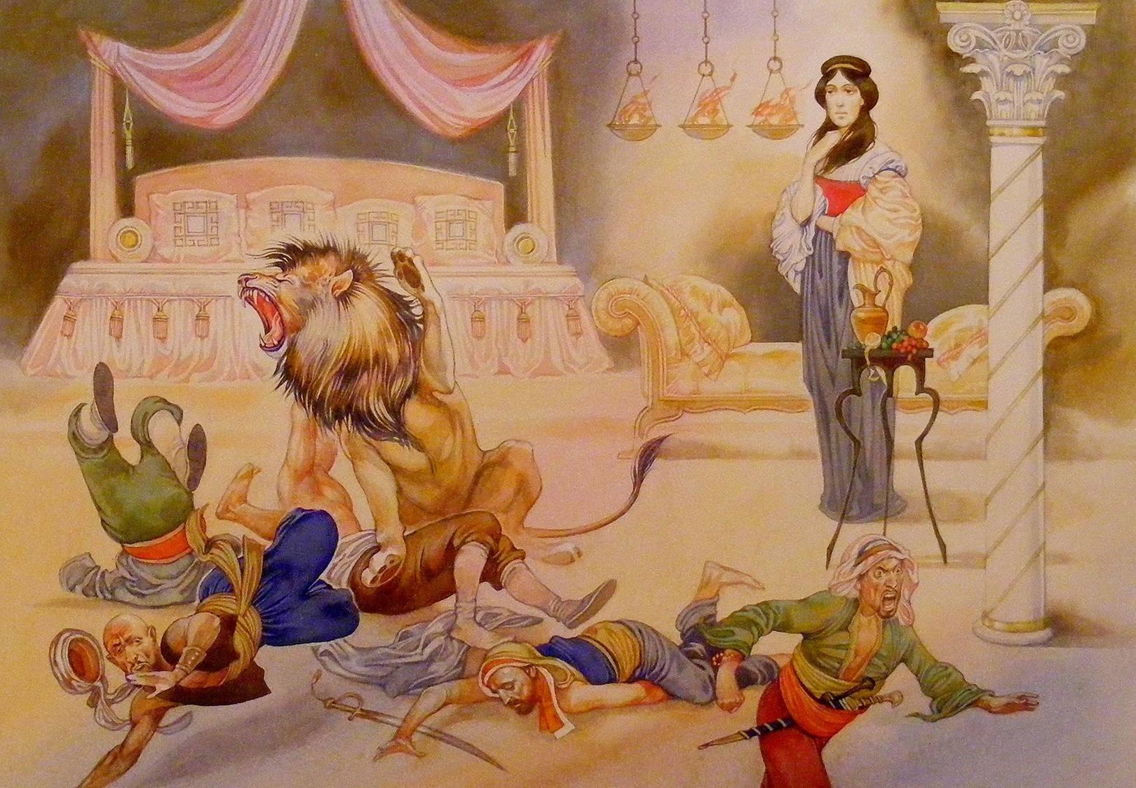 Иллюстрация св. Дарья