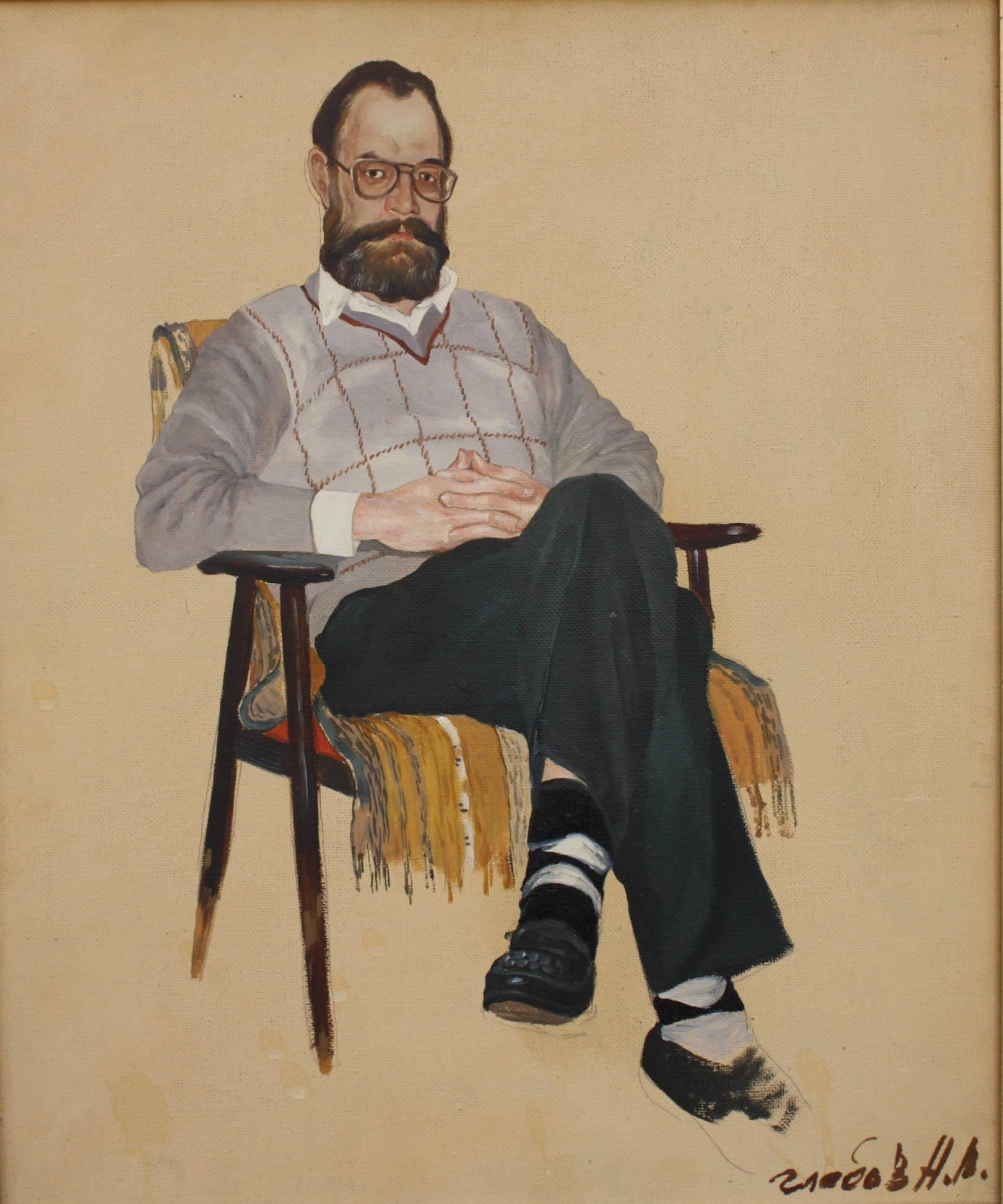 Портрет писателя Брякова