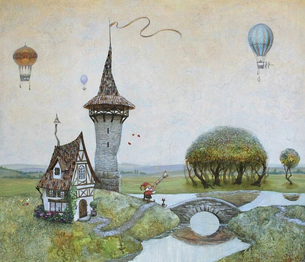 Сказочные иллюстрации