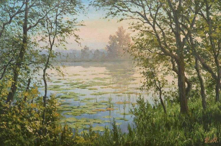 Весенний туман (Spring  mist)