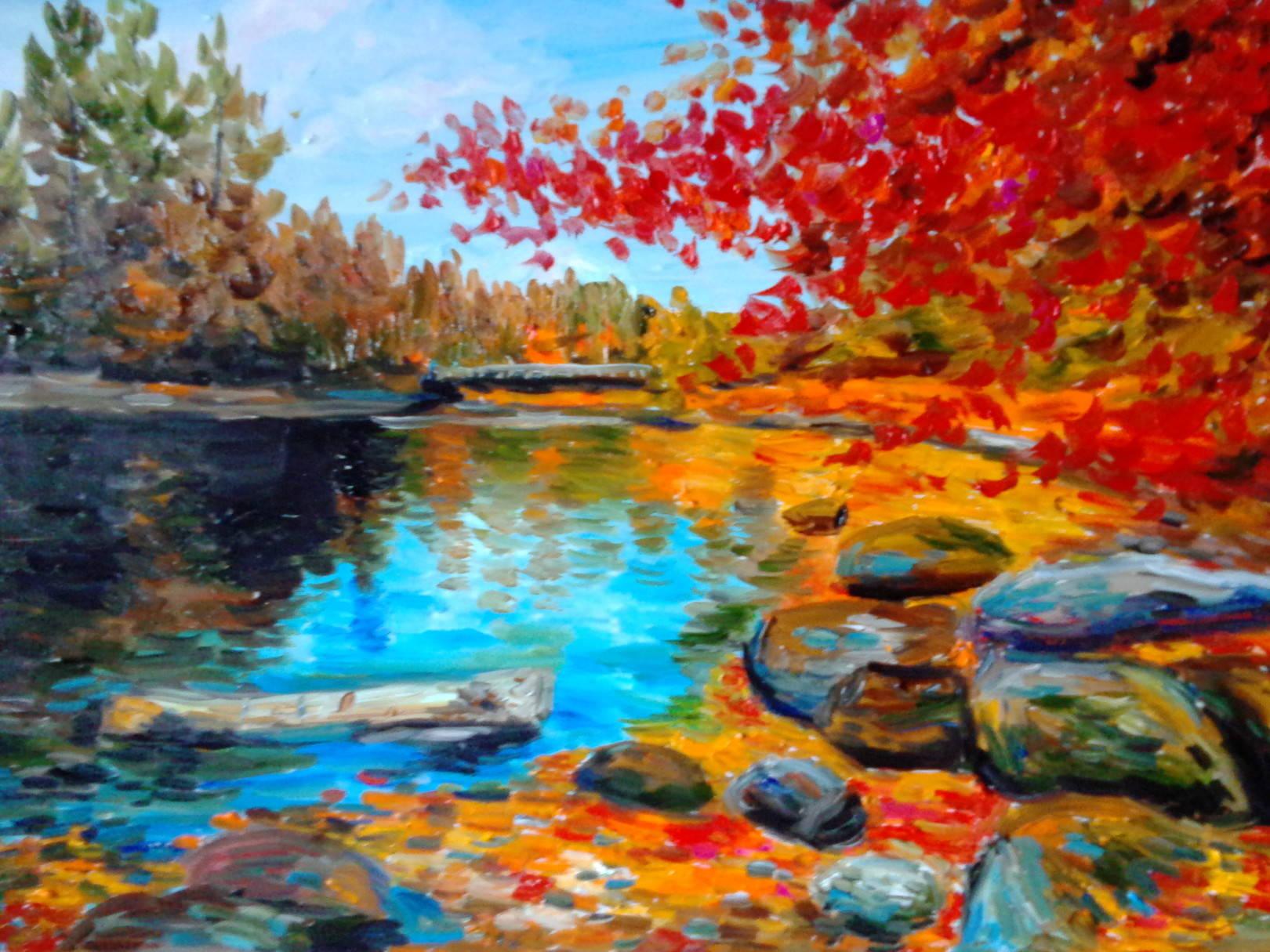 Осенний пейзаж 5