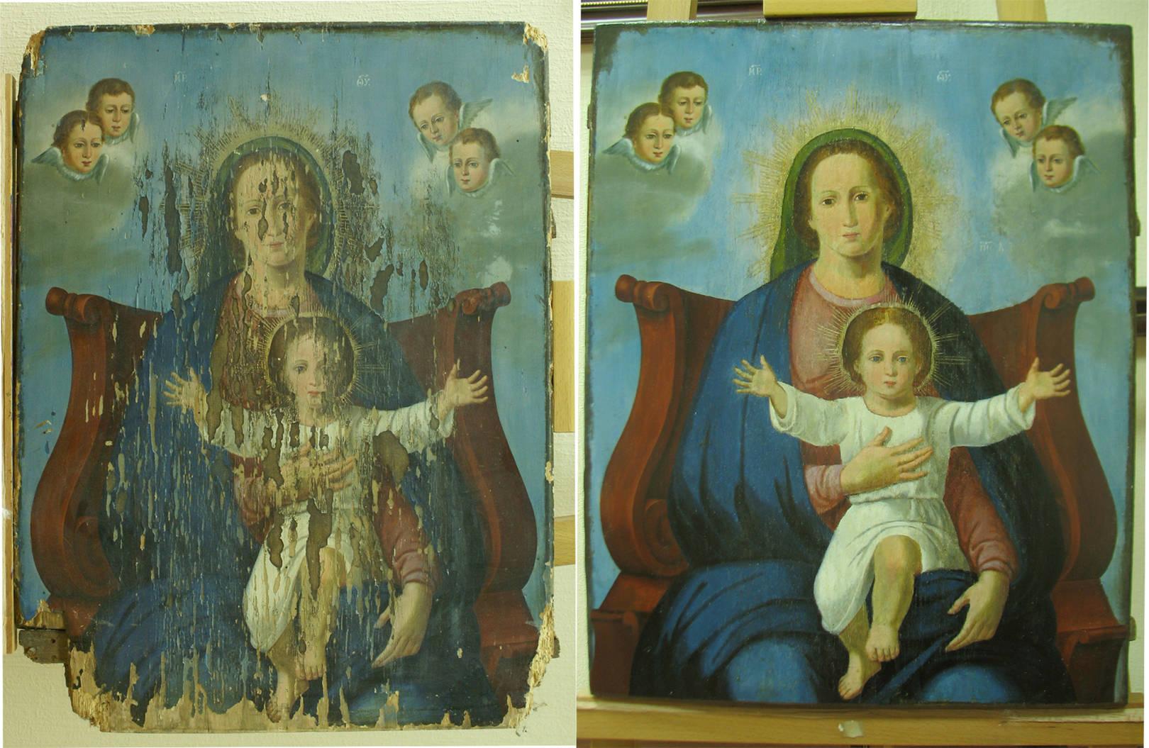 реставрация живописи