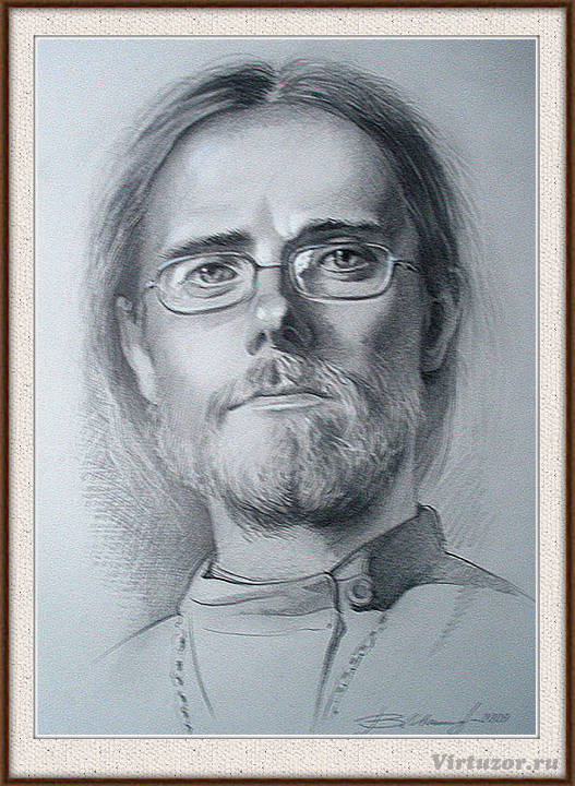 Портрет священника отца Артемия.