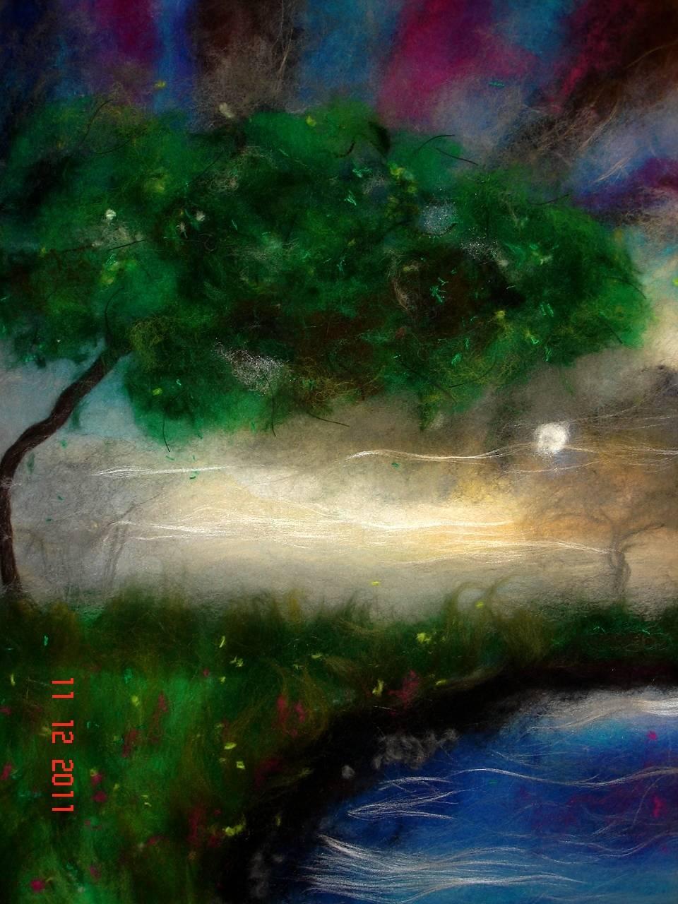Шерстяная акварель -   Времена года