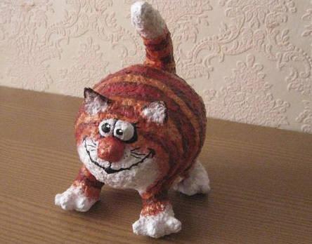 кот из папье
