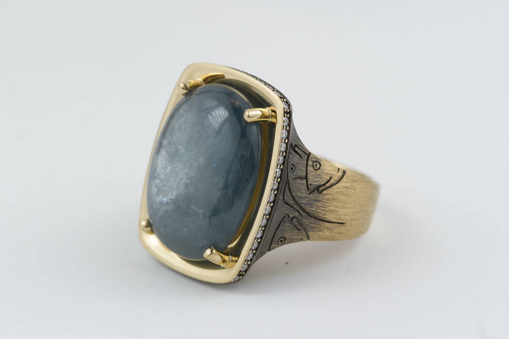кольцо Лед