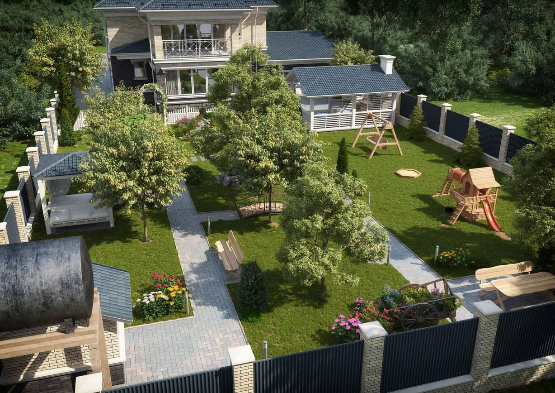Реконструкция дома и благоустройство участка в Оренбурге