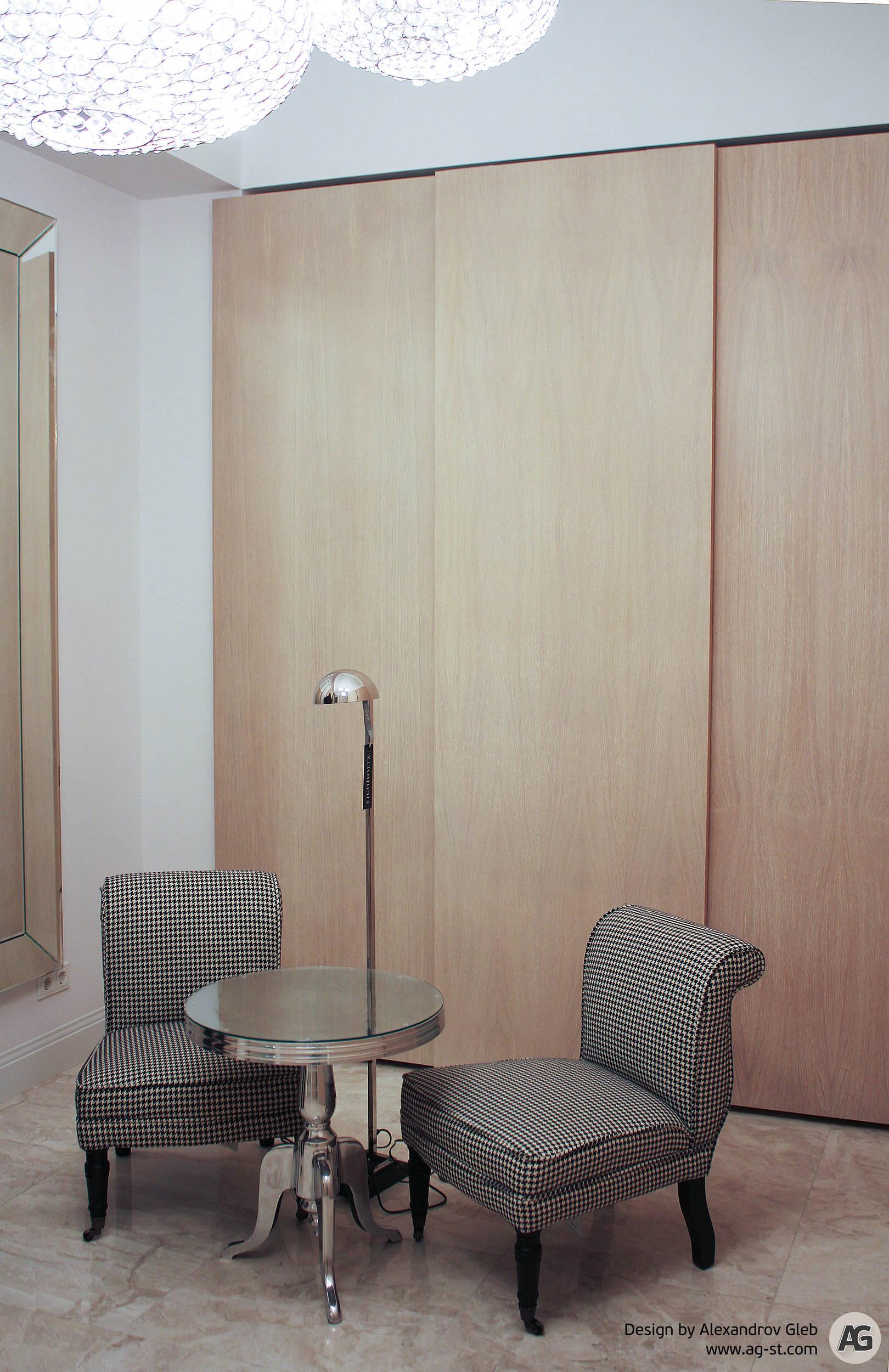 Интерьер апартаментов на Конногвардейском бульваре
