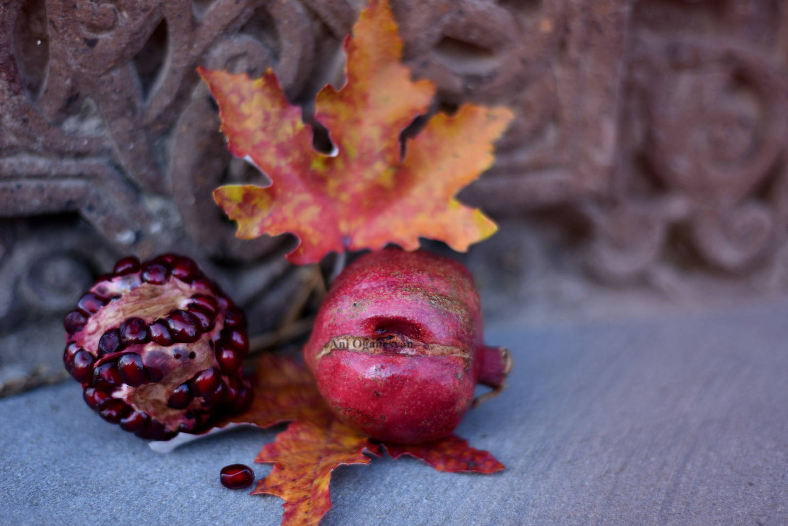 осень в Армении