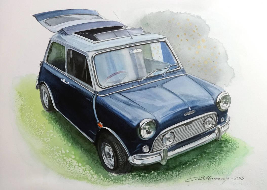 ,,Mini cooper,,исполненный на заказ от владельца популярной в Ирландии модели автомобиля.