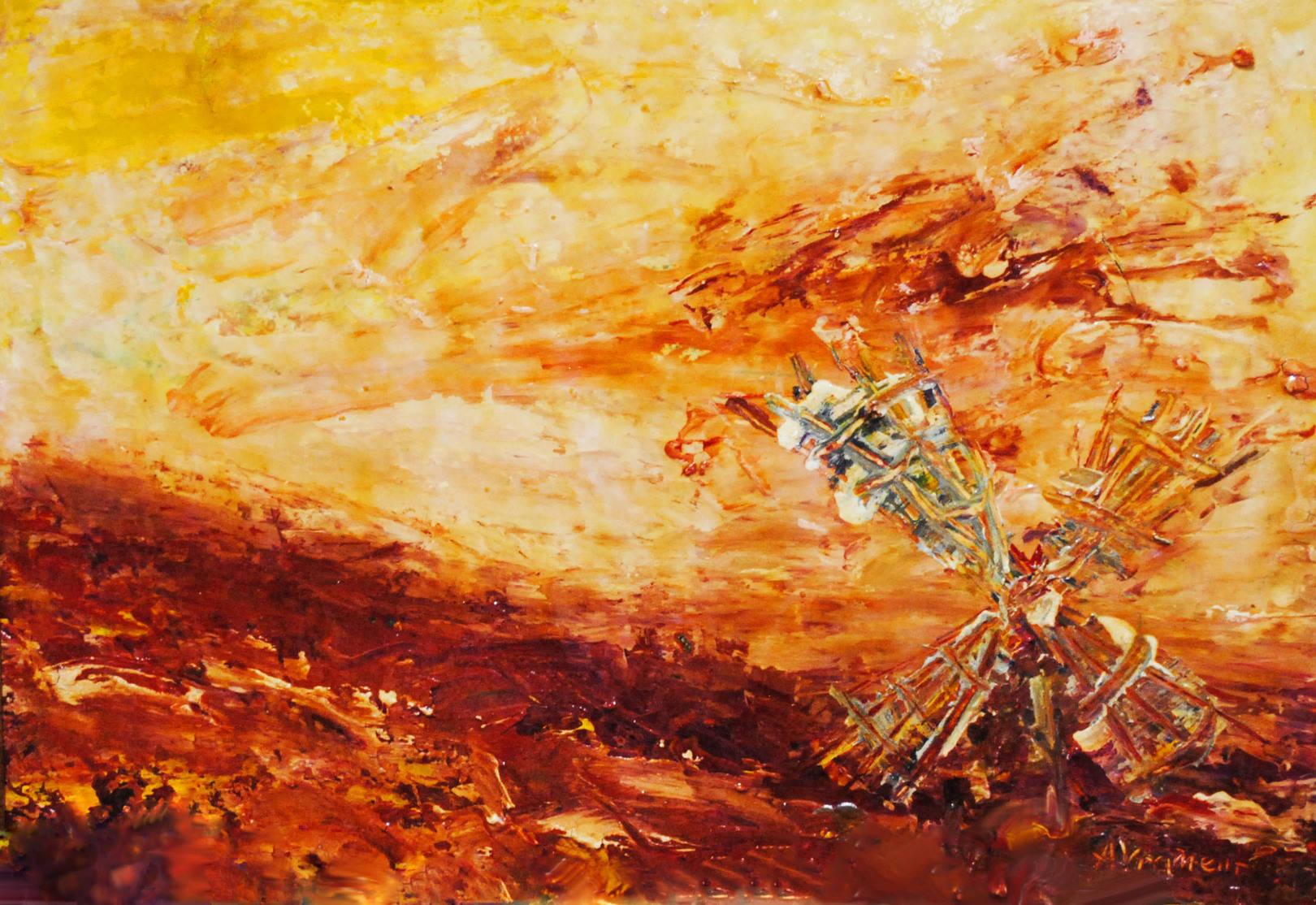 Martian mill
