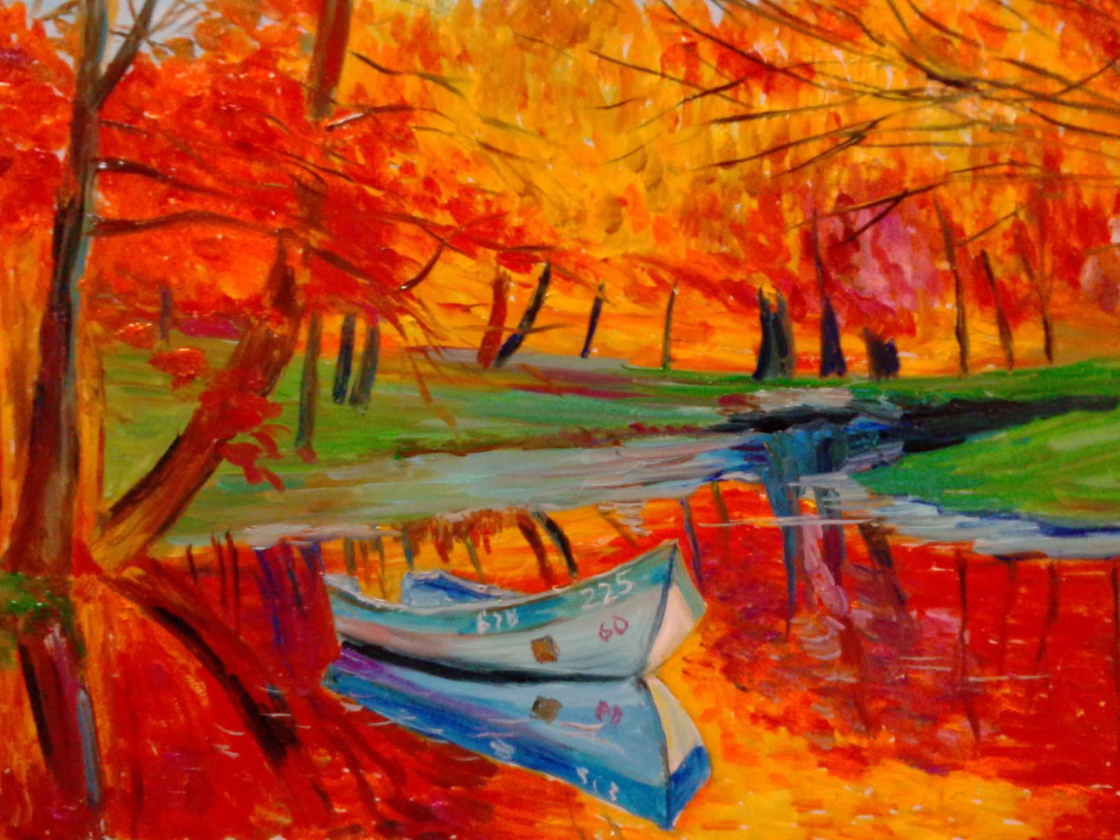 Осенний пейзаж 7