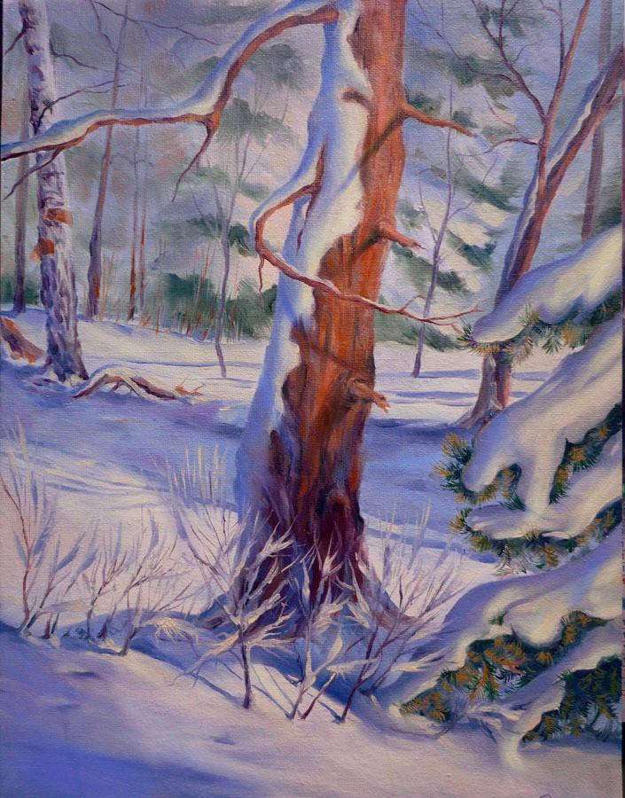 Зимний этюд