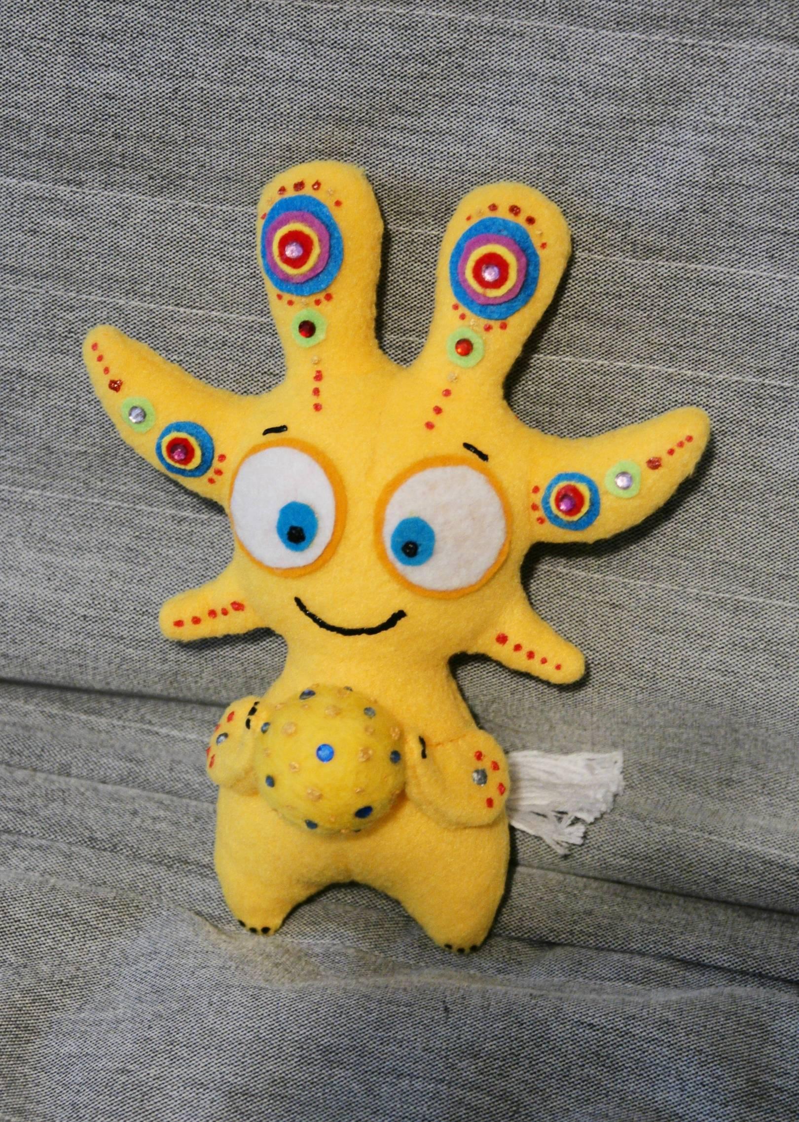 """Авторская игрушка """"Солаура"""" ручной работы, Author toy """"Solaura"""" handmade"""