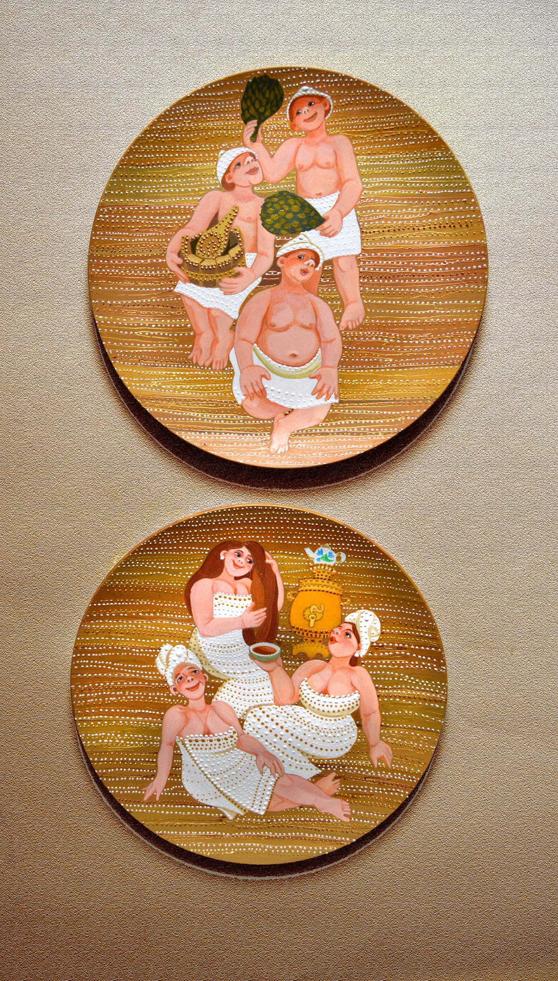 декоративные тарелочки