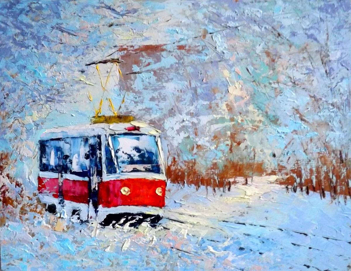 Зима парк Дубки.к.м.2015г.