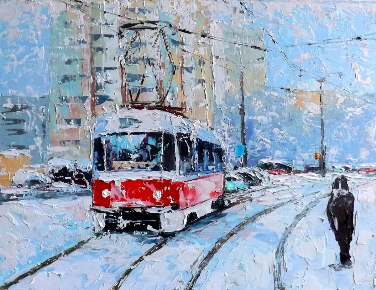 Снегопад.к.м.31х42.2015г.