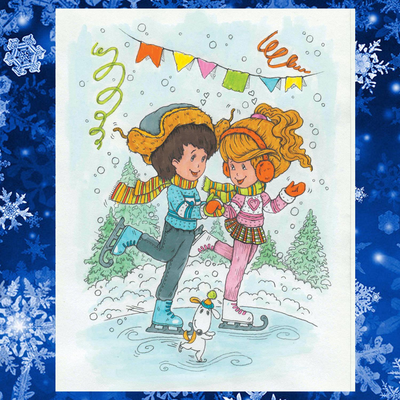 Winter holiday (зимние каникулы)
