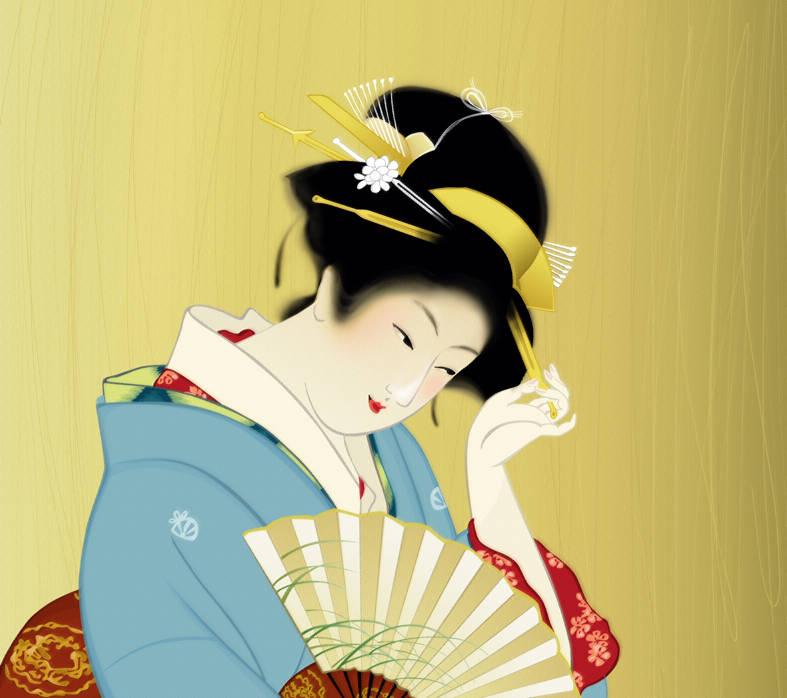Иллюстрация для открытки. Вектор 2013
