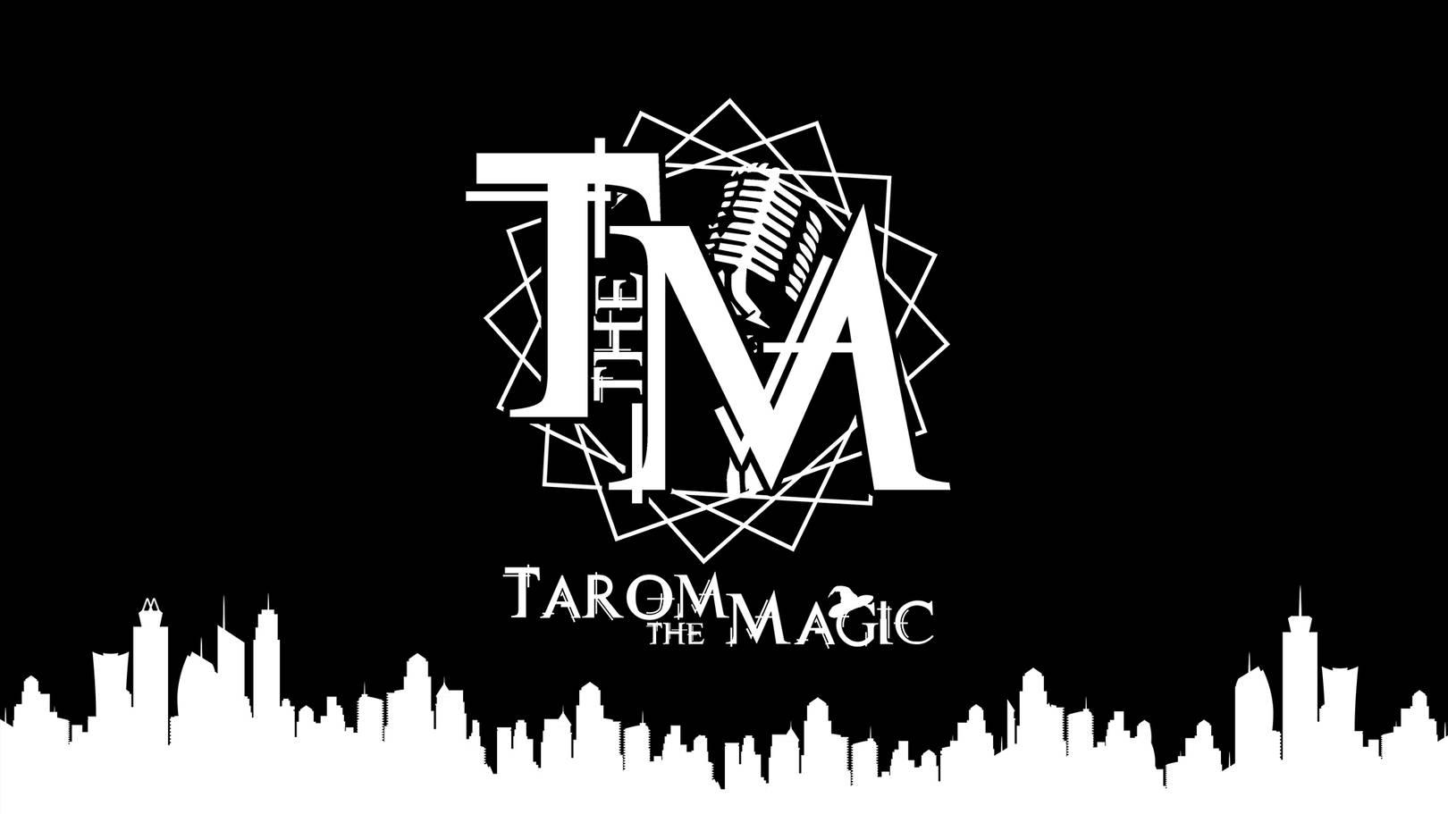 Логотип и обои для Tarom the Magic Софт: Adobe Illustrator CC 2015, Adobe Photoshop CC 2014