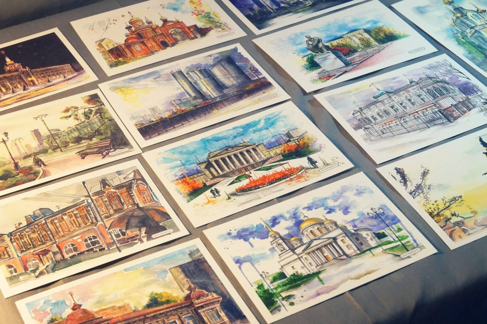 Транссиба открытки, коллекционные наборы открыток