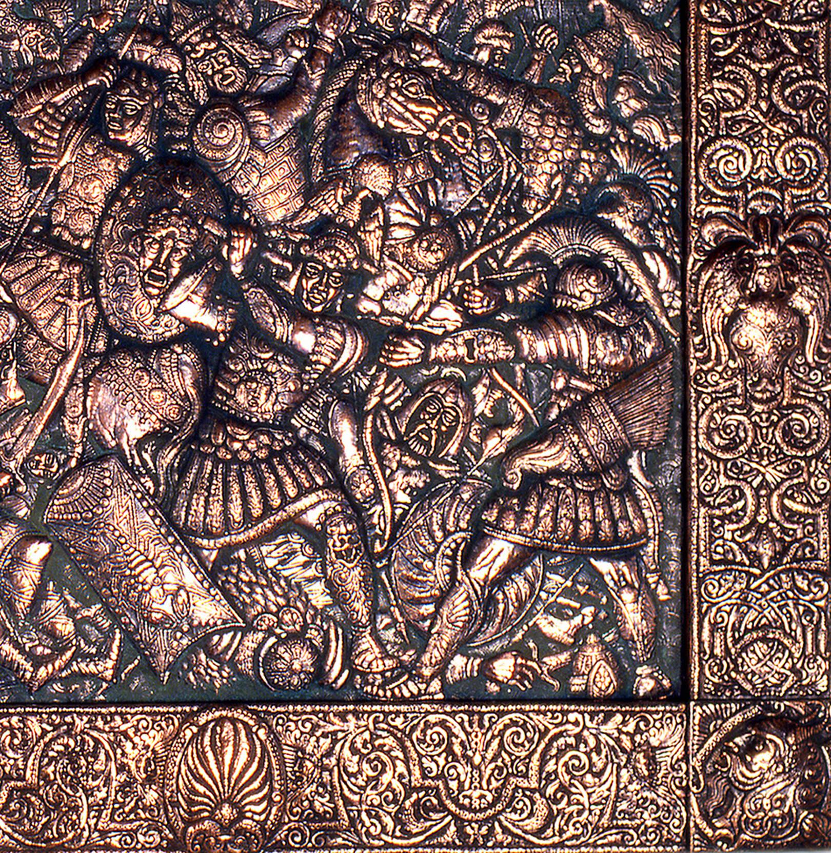 Битва на Каталаунских полях (фрагмент)