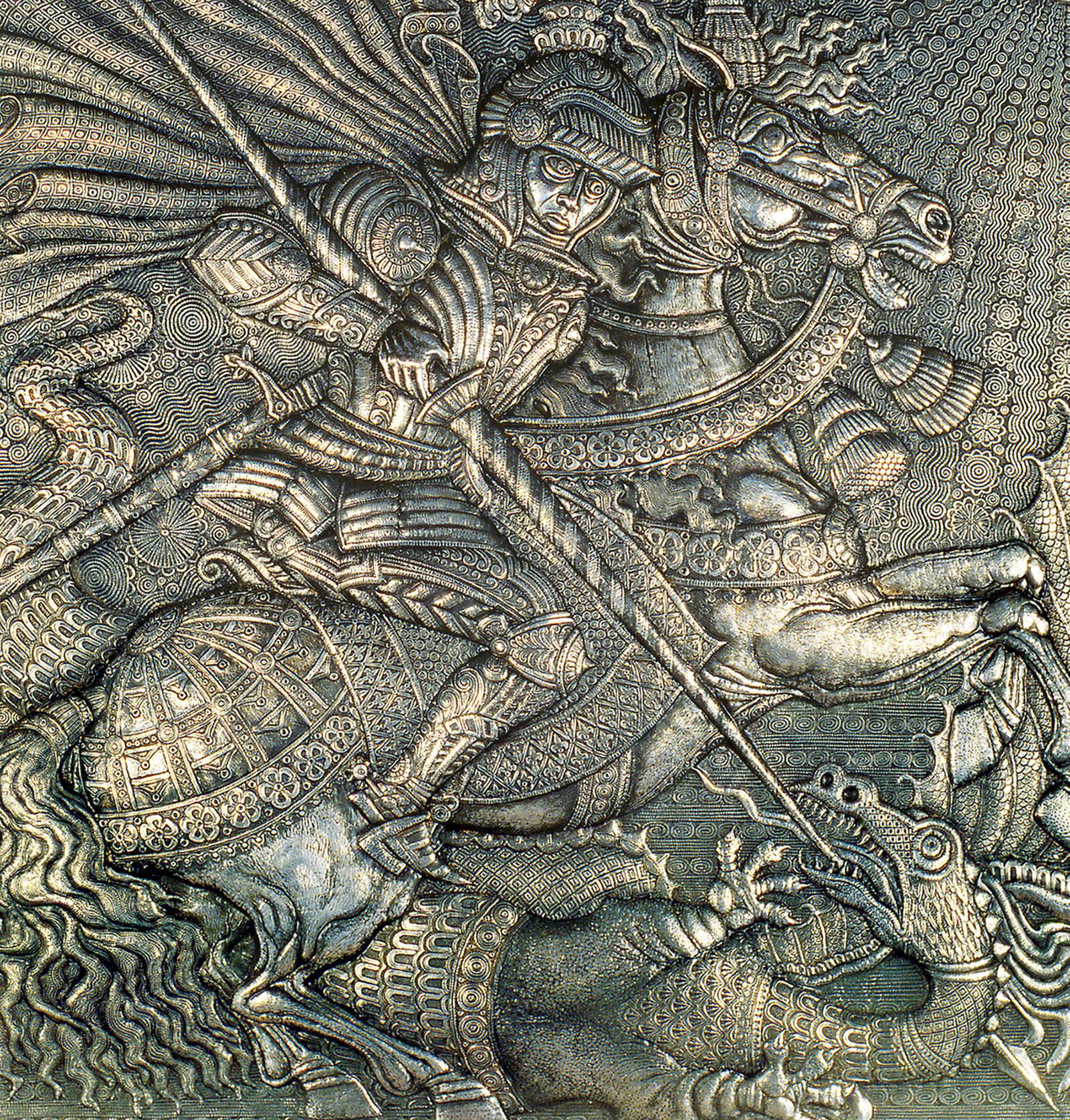 Георгий Победоносец (фрагмент)