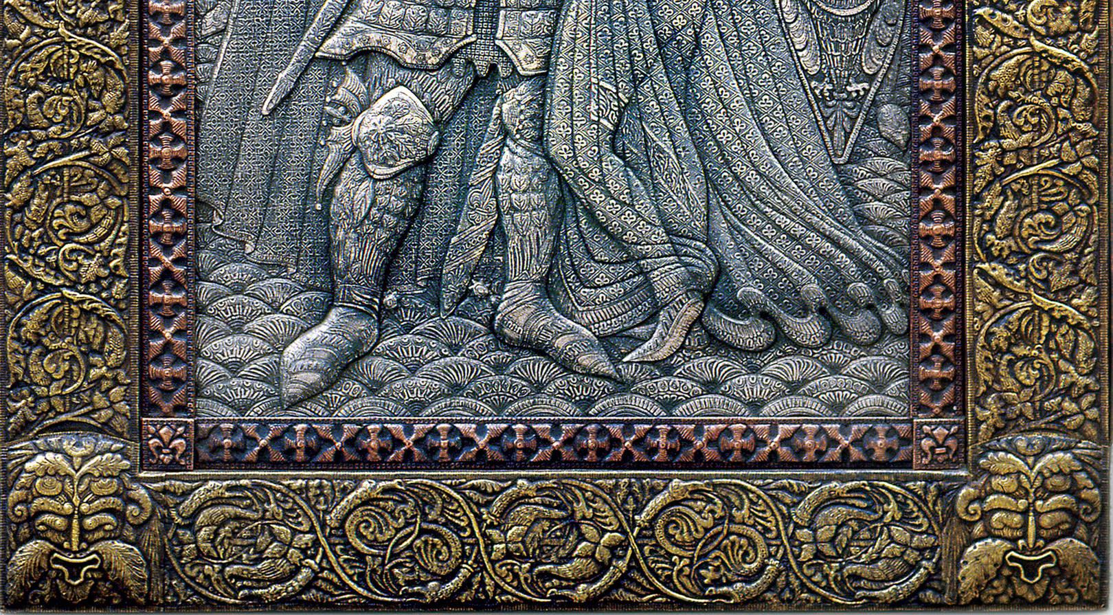 Прощание короля Артура с Джиневрой  (фрагмент)