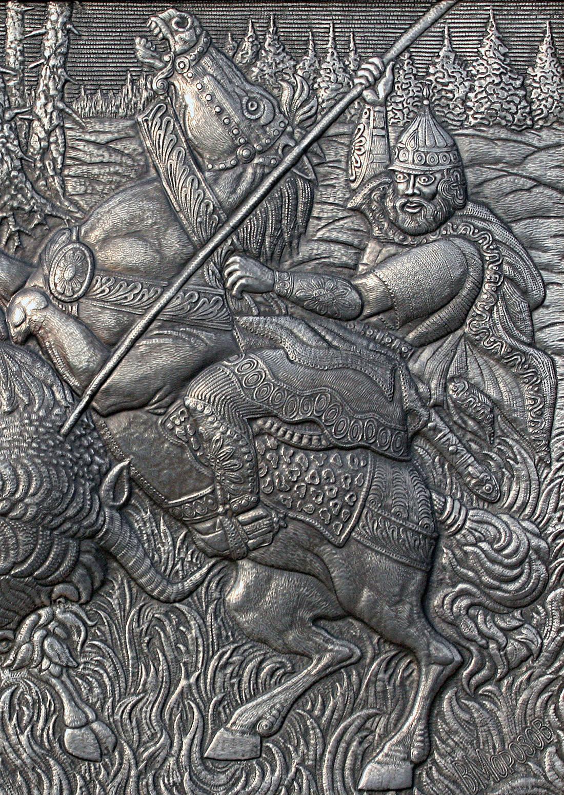 Охота на тура (фрагмент)