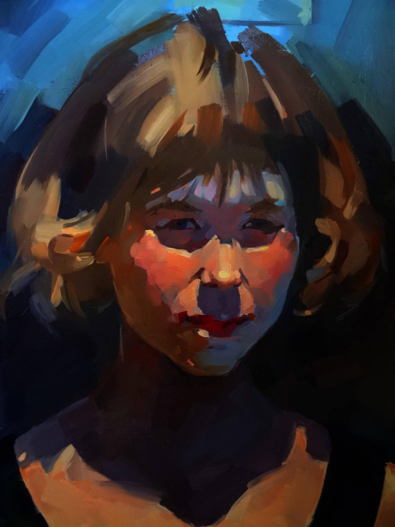 Портрет девочки-подростка