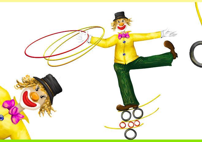 Персонаж для цирковой студии г. Удомли
