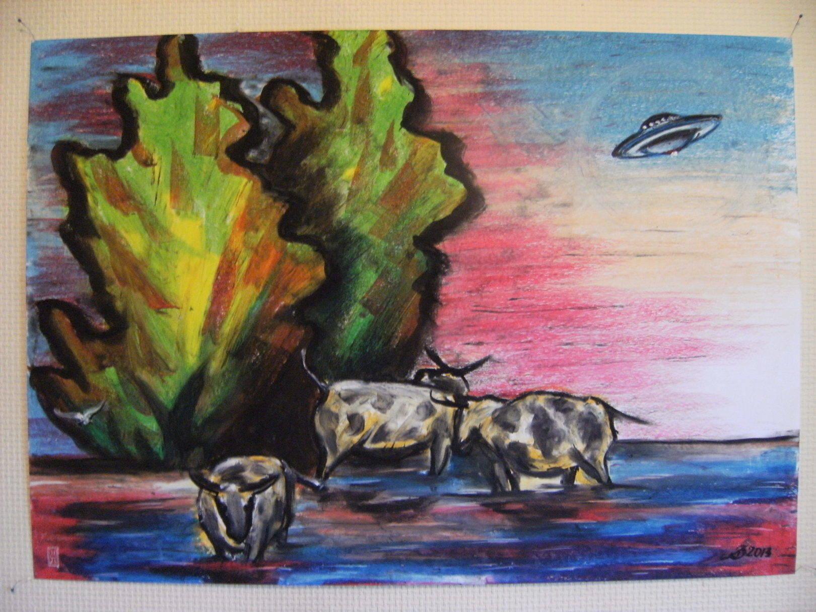 "ROVOAM GALLERY ""Коровы и НЛО"""