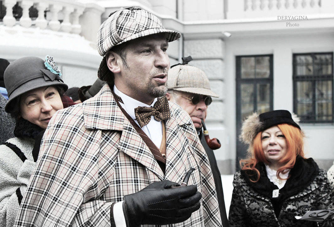 Sherlock Homes' Birthday in Riga-2016