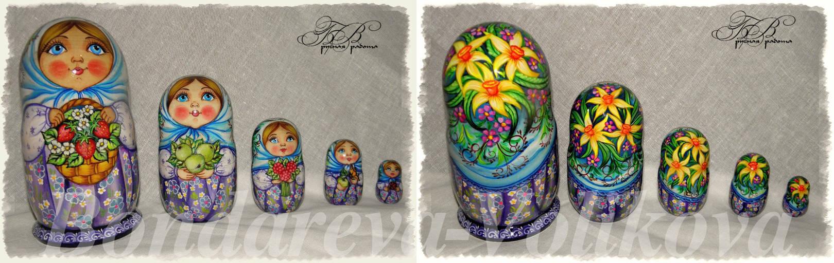 Русские матрешки 2 ( Russian nest-dolls 2)