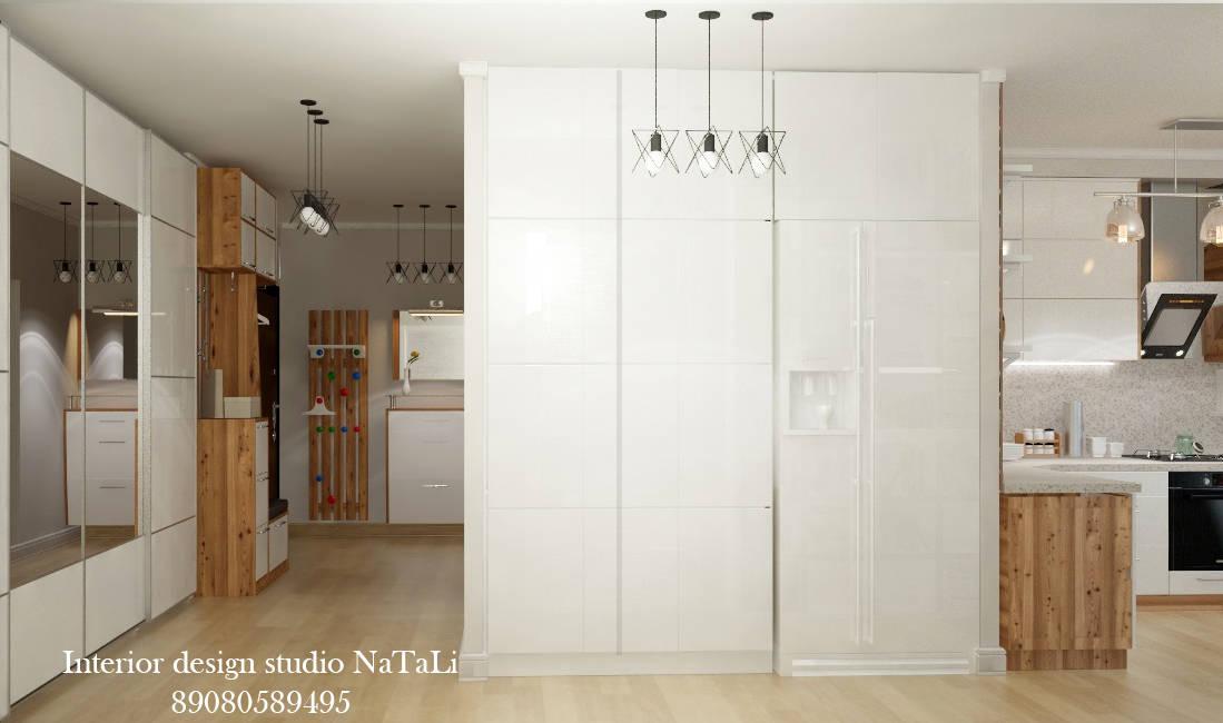 Дизайн интерьера коридора в скандинавском стиле