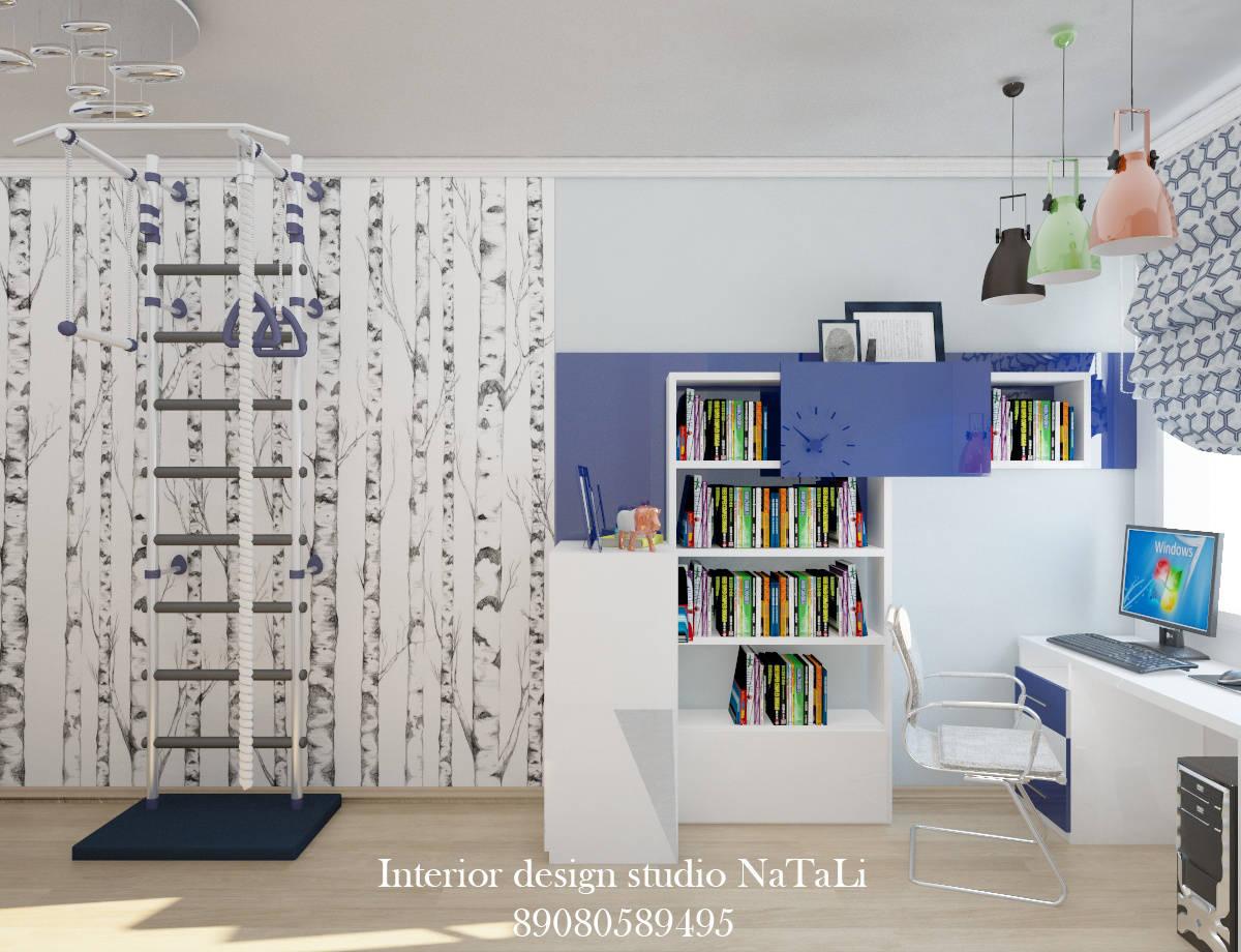 Дизайн интерьера детской комнаты в скандинавском стиле