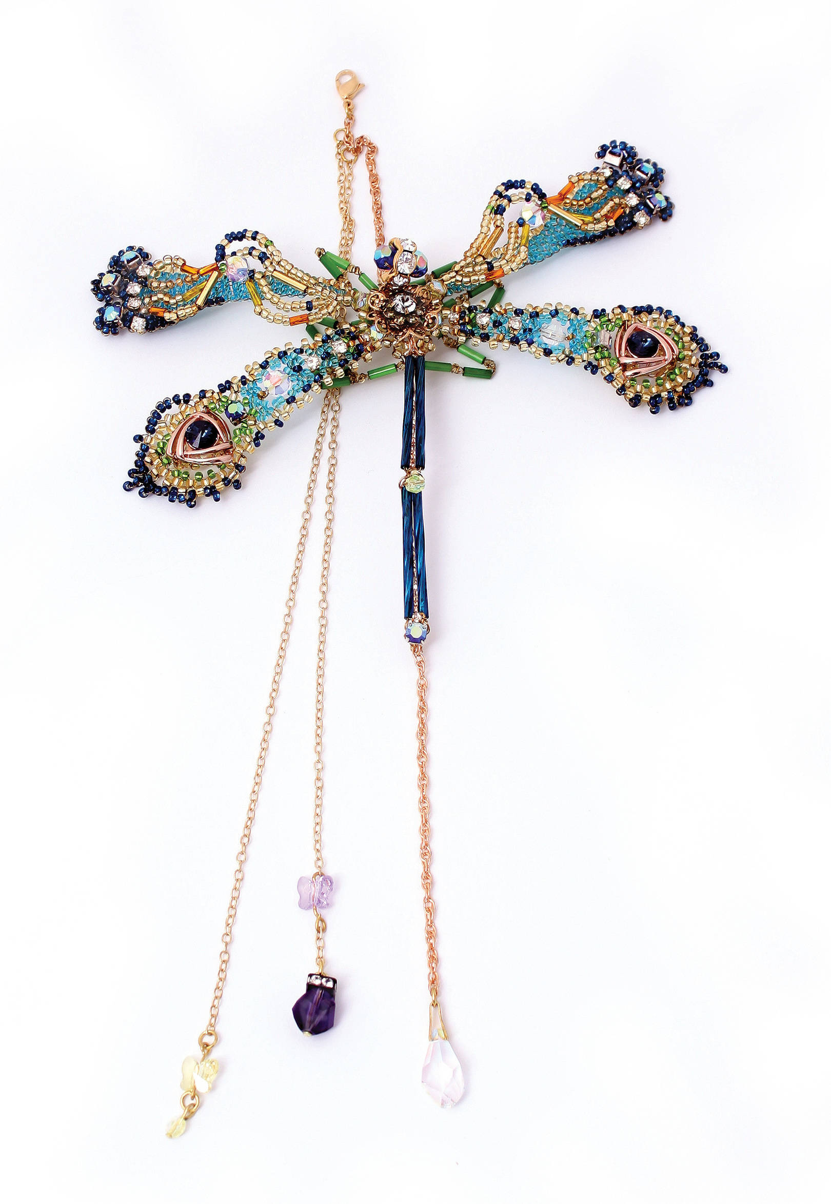Carnaval.  Le pendentif.  Taille: 150 х 270 mm