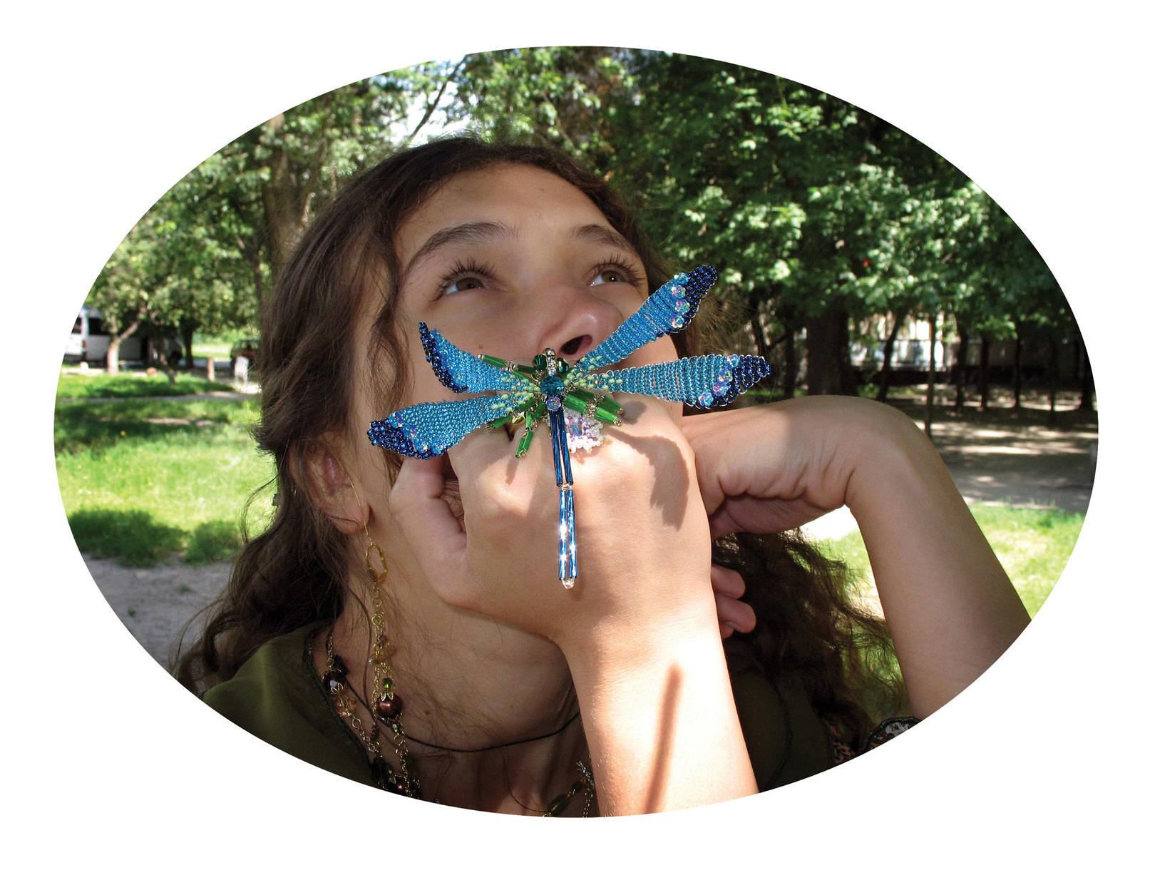 Dragonflies. Exclusive jewellery.
